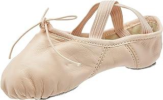 Capezio Girls Split Sole Juliet Outdoor Shoes, Pink