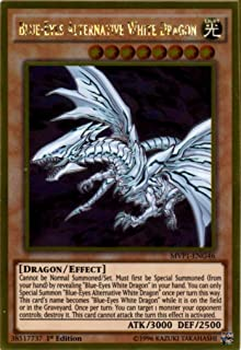 YU-GI-OH! - Blue-Eyes Alternative White Dragon (MVP1-ENG46) - The Dark Side of Dimensions Movie Pack Gold Edition - 1st Ed...