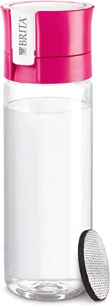 Brita Fill & GO Water Bottle with Filter + 1 Extra Filter Disc [Japan Import]