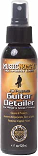 Music Nomad MN100 Premium Guitar Cleaner for Matte and Gloss Finishes, 4 oz.
