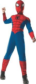 Rubie's Marvel Ultimate Spider-Man 2-in-1 Reversible Spider-Man / Venom Muscle Chest Costume, Child Medium - Medium One Color