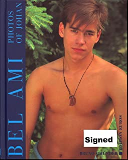 Johan Paulik Photo Book-Bel Ami 1997-NEW-SEALED-GAY-RARE-AUTOGRAPHED