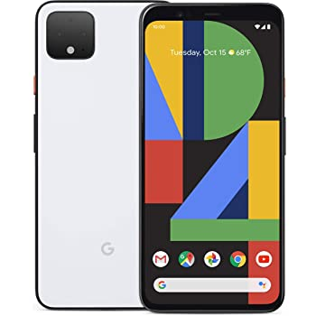 Google Pixel 4XL, 128GB Clearly White (AT&T) (Renewed)