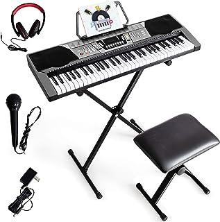 Costzon 61 Key Keyboard Piano with LCD Display, Electric Key