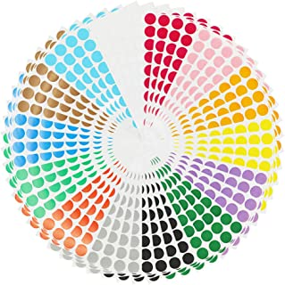 Color Coding Labels 2240pcs 3/4