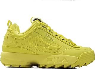 Fila Disruptor II Premium Womens Yellow Sneakers