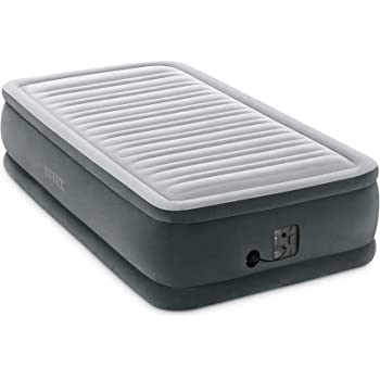 Intex Comfort Plush Dura-Beam Airbed Internal Electric Pump Bed Mid Height Rise