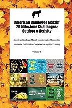 American Bandogge Mastiff 20 Milestone Challenges: Outdoor & Activity American Bandogge Mastiff Milestones for Memorable Moments, Outdoor Fun, Socialization, Agility, Training Volume 3