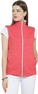 Scott International Cotton Grindle Sleeveless Jacket for Women