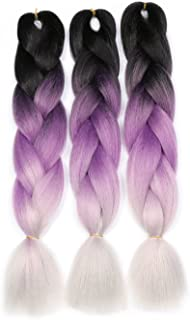 purple and gray ombre
