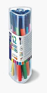 Staedtler Triplus Colour 323 PR12 Fibre-Tip Pens (Pack of 10 + 2 Free)