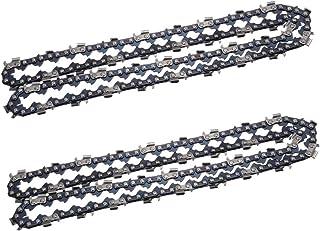 "2 Chain Fits Dolmar PS330 35cm 3//8/"" 52TG 1,3mm Saw Chain Chain Sword"