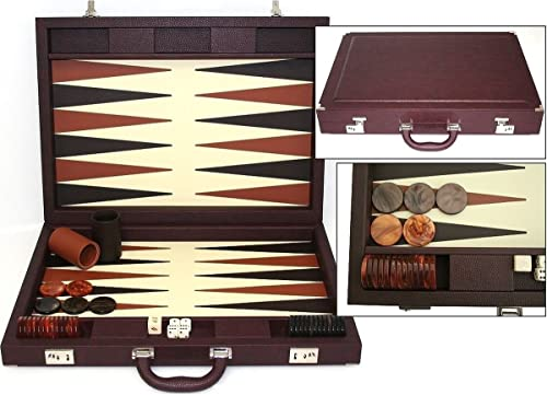 gran descuento Dal Dal Dal negro Set marrón de Backgammon  con 60% de descuento