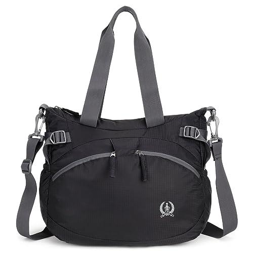 5b6988de8d9f10 Forestfish Women's Lightweight Gym Tote Bag Waterproof Sports Handbag