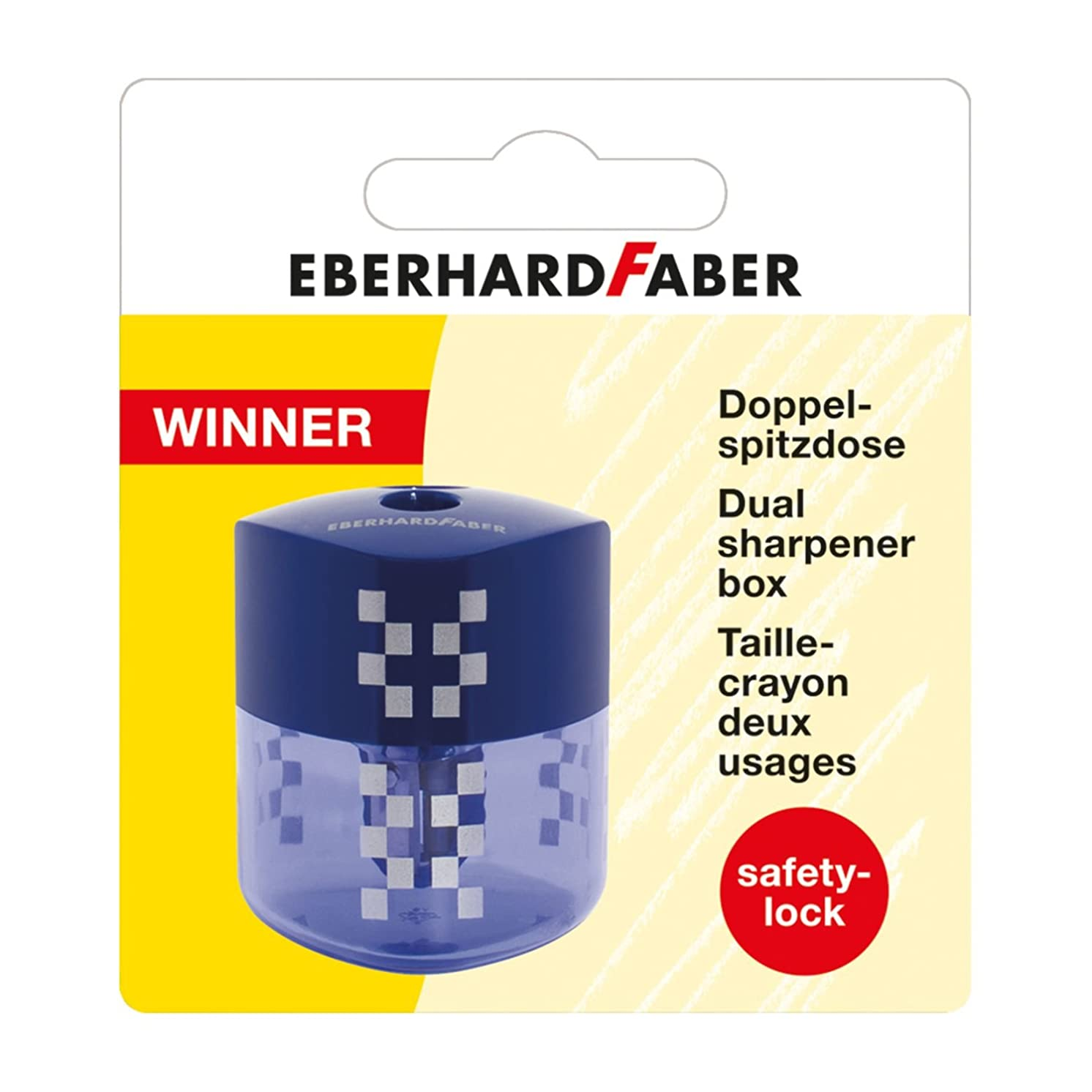 Eberhardt Faber 585196?Dual Sharpener with Blue