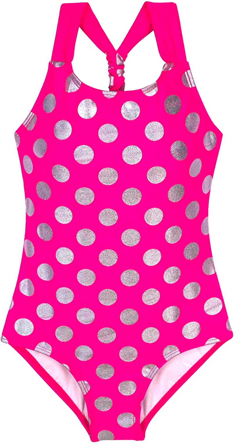 MILLUM Girls Polka Dot Swimsuit Pink Color Bathing cheap Wome for Suit New product! New type