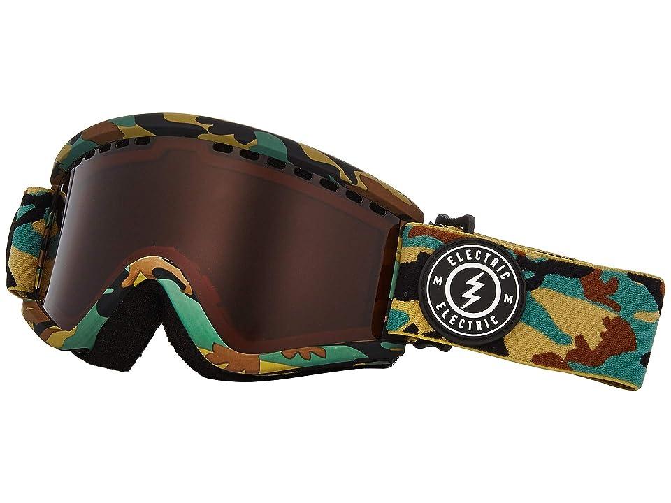 Electric Eyewear EGV.K (Camo Brose) Athletic Performance Sport Sunglasses