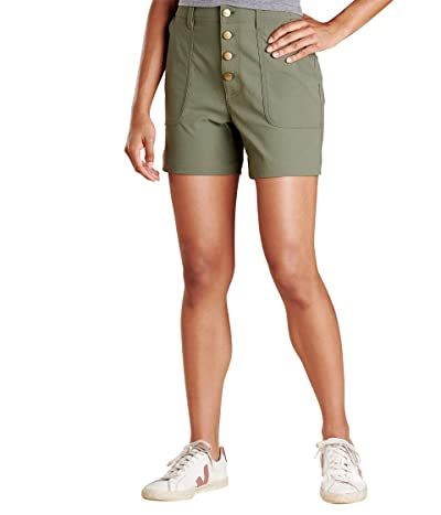 Toad&Co Rover High-Rise Shorts (Beetle) Women