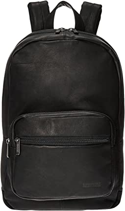 Kenneth Cole Reaction Ahead of the Pack - Leather Backpack