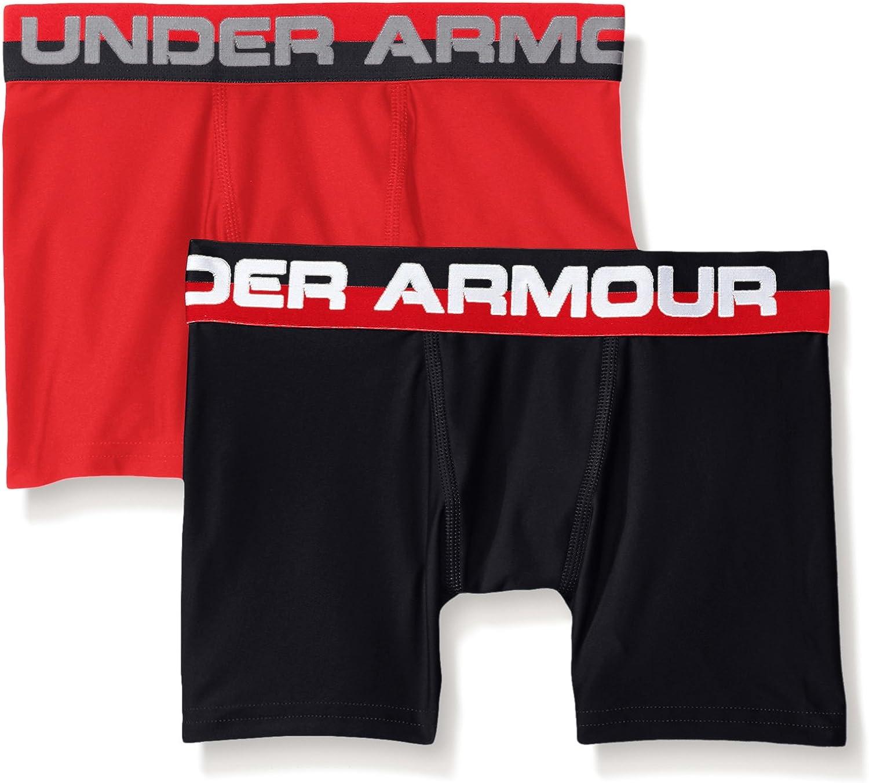 Under Armour Boys' Original Series Boxerjock (2 Pack)