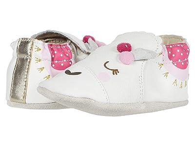 Robeez Luna Soft Sole (Infant/Toddler) (White) Girl