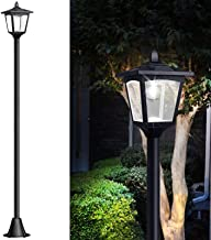 "67"" Solar Lamp Post Lights Outdoor, Solar Powered Vintage Street Lights for Lawn,.."