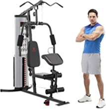 Marcy MWM-988 Multifunction Steel Home Gym 150lb Weight Stack Machine