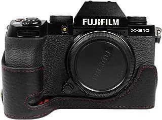 X-S10 etui z prawdziwej skóry, MUZIRI KINOKOO etui z prawdziwej skóry do FUJI X-S10 etui ochronne Fujifilm X-S10 etui doln...