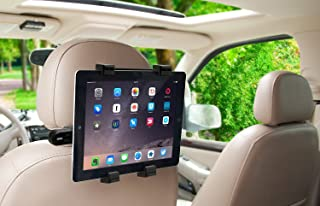 Okra 360 Degree Adjustable Rotating Headrest Car Seat Mount Holder for iPad, Samsung Galaxy,Motorola Xoom, and All Tablets Up to -10.1