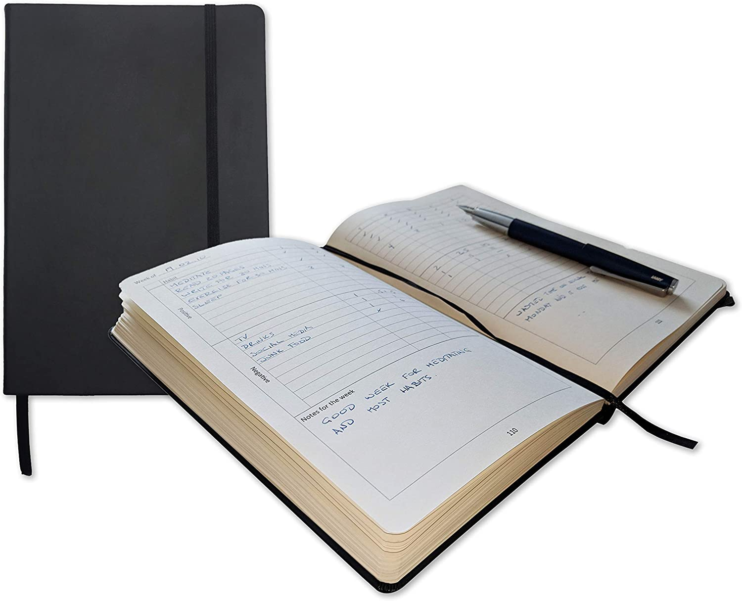 Habit Tracker and Journal by Max 70% OFF Quality Daily NTBK Cheap mail order shopping - Premium