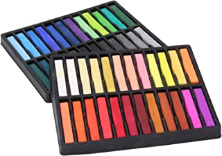 Square Artist Pastels, 48 Assorted Colors Set
