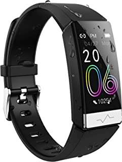SIKADEER Fitness Tracker Blood Oxygen SpO2 Heart Rate Monitor Blood Pressure, Activity Tracker with Low O2 Reminder IP68 Waterproof Smartwatch for Men Women Kids Health Sleep Monitor for Android iOS