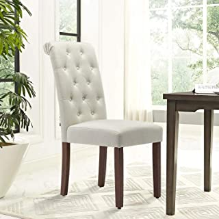 COZEON Tufted Button Dining Chairs Set of 2 for Living...