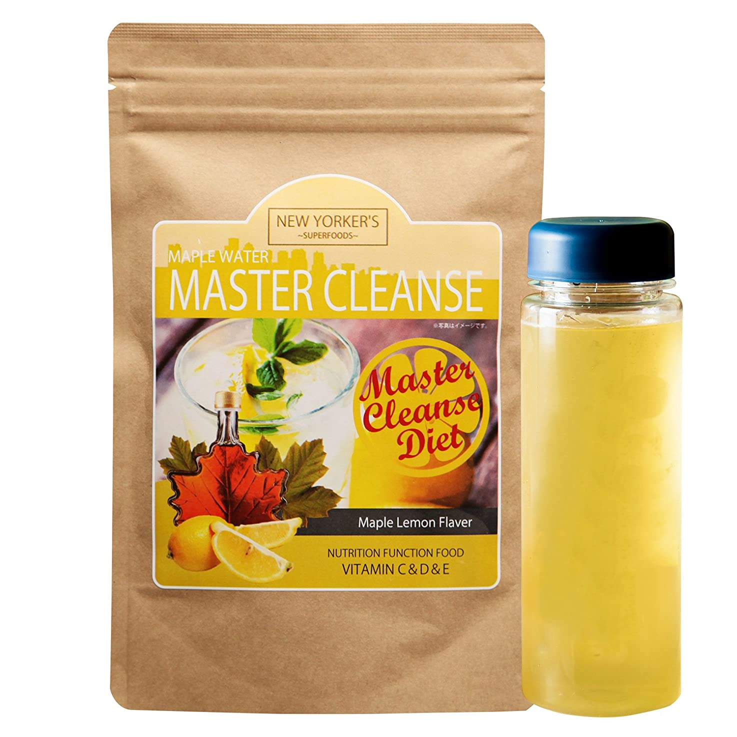暴力的な慣れるフォーマルIDEA マスタークレンズダイエット メープルレモン味 ファスティングダイエット 5g×9包
