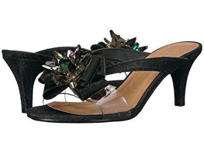 J. Renee Gredel (Black Glitter/Clear) Women