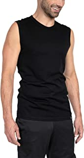 Woolly Clothing Co Woolly Clothing Men's Merino Wool Tank Top - Ultralight - Wicking Breathable Anti-Odor
