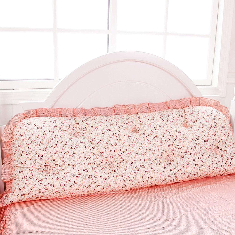 DXG&FX Kit de Produits Princess Bed Assortir l'oreiller sur Le lit Chevet par Repos de lit-C diamètre180cm(71inch)