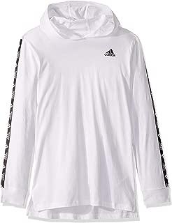 Boys' Big Long Sleeve Hooded Logo T-Shirt