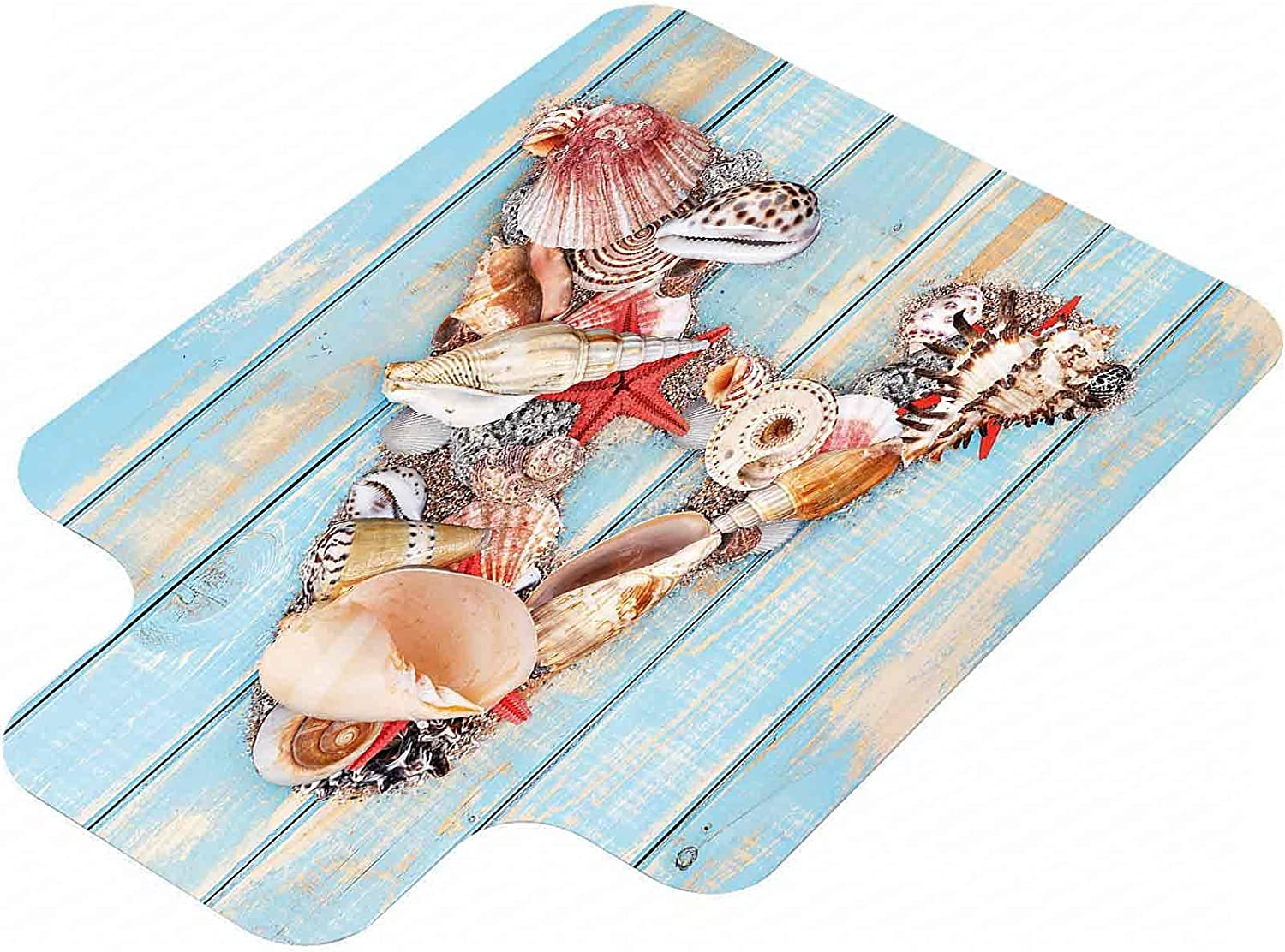 Letter A Hard Floor Chair Mat Albuquerque Mall Pale Courier shipping free shipping with W Seashells on