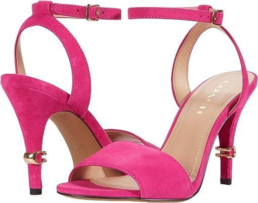 Shocking Pink Suede