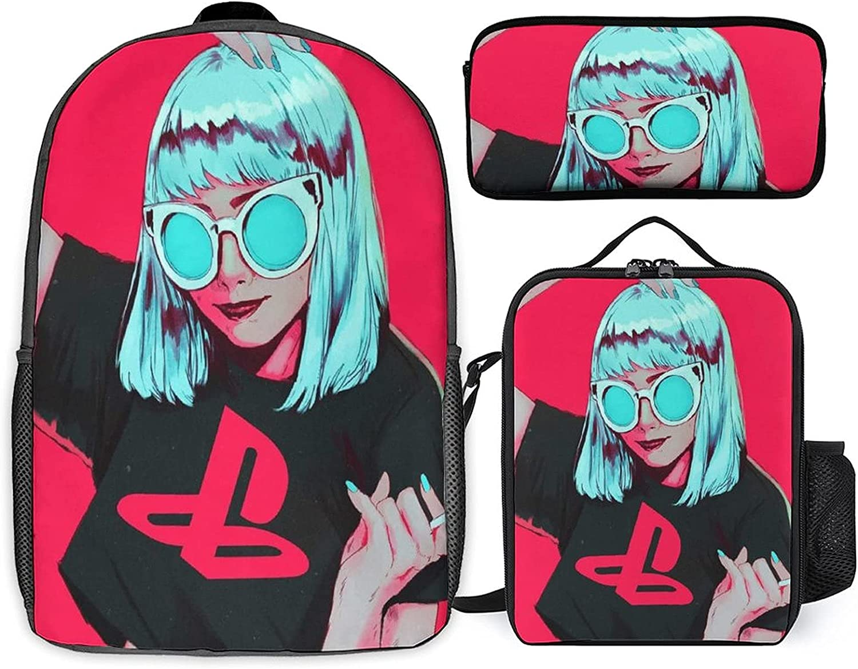 Branded goods Stoner Art Three-piece set New Shipping Free of + schoolbag student st