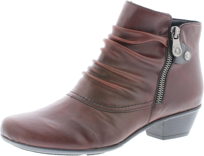 Damen Ankle Boot Laufsohle Kautschuk Komfort Synthetik Rieker L4673