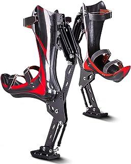 GFYWZ Scarpe Rimbalzanti in Fibra di Carbonio Scarpe Canguro Trampoli da Salto Esercizio Fitness, Scarpe Elasticizzate per...