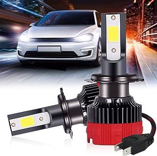 Zmoon H7 LED Headlight Bulbs, 100W 10000 Lumens Super...