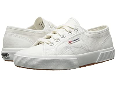 Superga Kids 2750 JCOT Classic (Toddler/Little Kid) (White) Kids Shoes