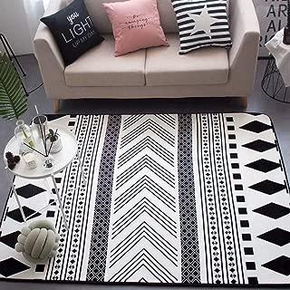 black and white runner rug uk