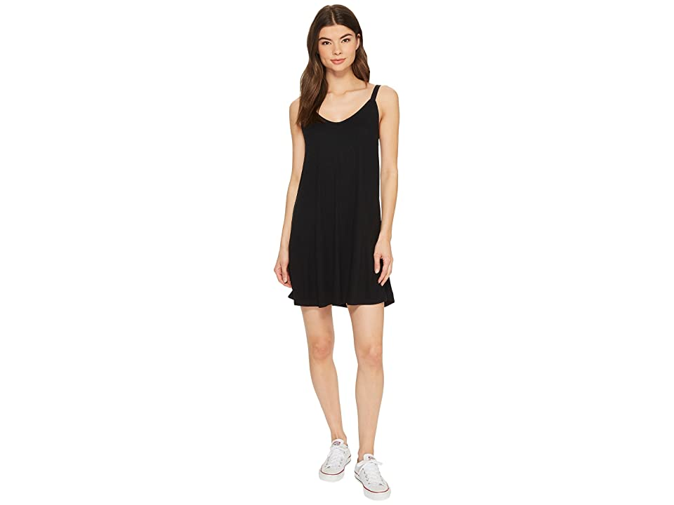 RVCA Switchback Dress (Black) Women