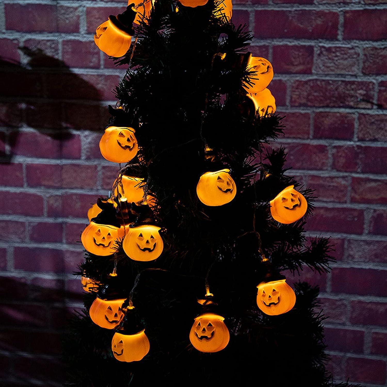 Lucakuins Store Halloween Boston Mall String Lights Creative Pumpkin LED 4.5m30L
