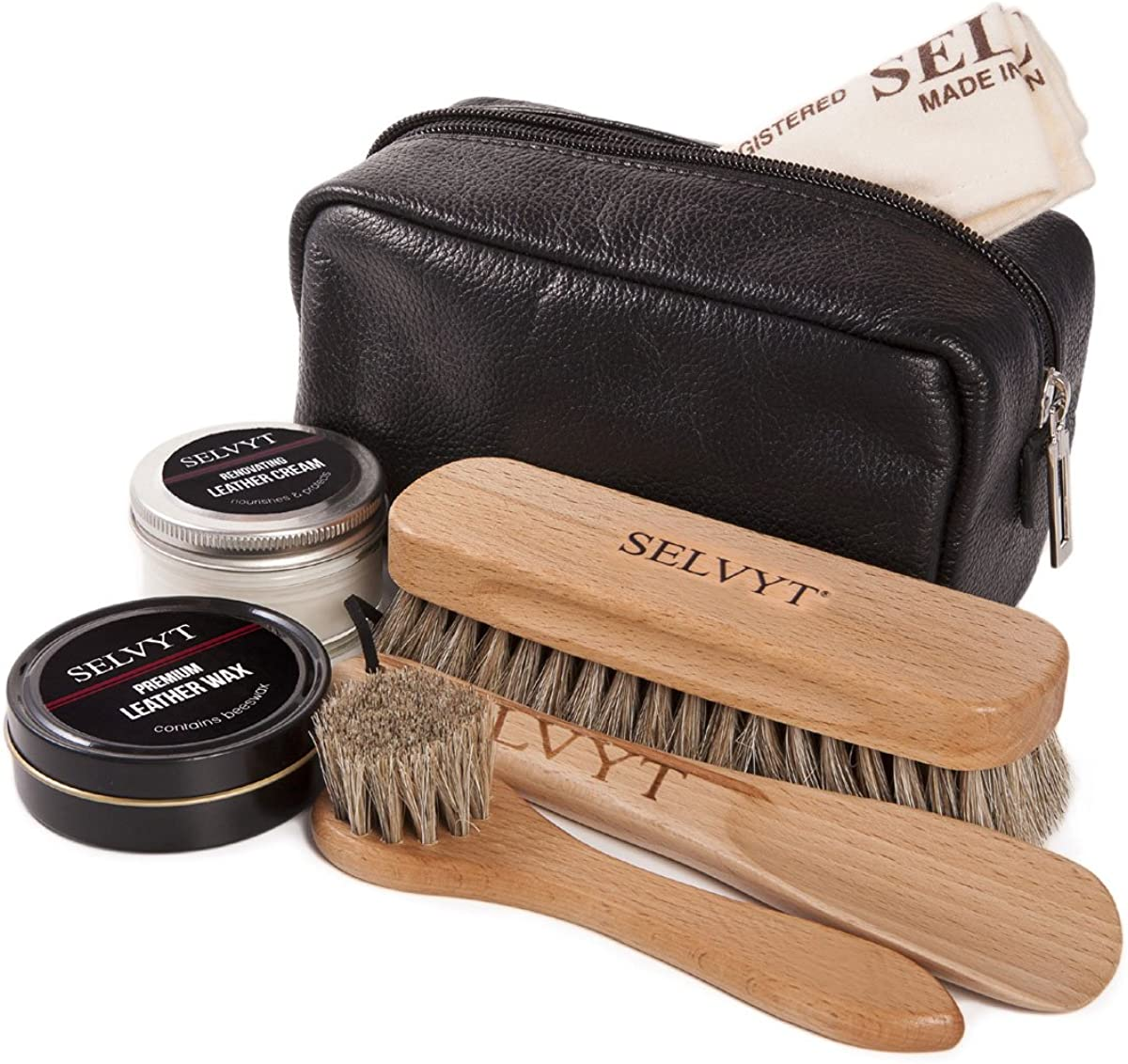 Selvyt Men's Luxury Care Recommended Shoe Max 54% OFF Kit