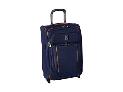 Travelpro 21.5 Crew Versapack Global Carry-On Expandable Rollaboard (Patriot Blue) Luggage